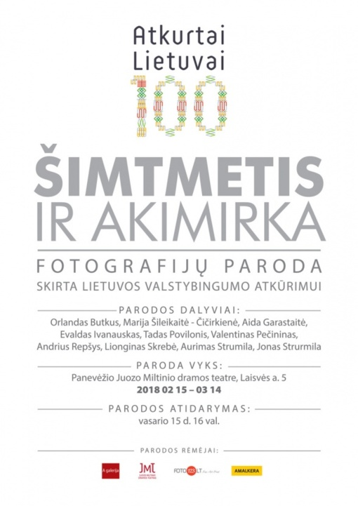 Panevėžio fotomenininkai: pasidžiaukime sustabdyta akimirka Šimtmečio Lietuvoje