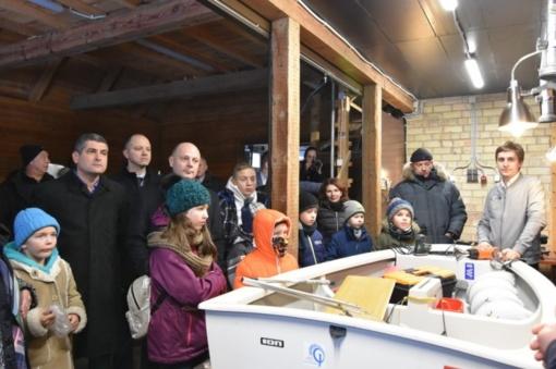 Neringos sporto mokykloje – jachtų dirbtuvės (FOTO)