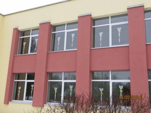 Naujojo Daugėliškio mokyklos-daugiafunkcio centro mokiniai mini Valstybės sukaktį
