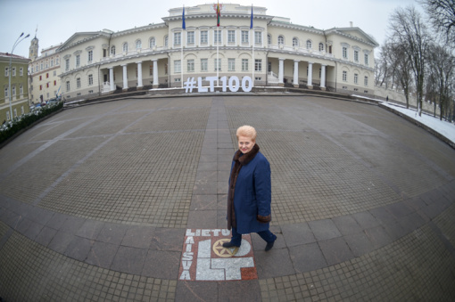 D. Grybauskaitė: Lietuva naują šimtmetį pasitinka kaip niekada pripažinta