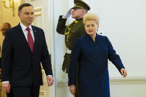 D. Grybauskaitė: nepalaikysime prievartinių metodų prieš Lenkiją