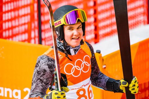 Kalnų slidininkas A. Drukarovas Pjongčango žaidynėse užėmė 59-ąją vietą