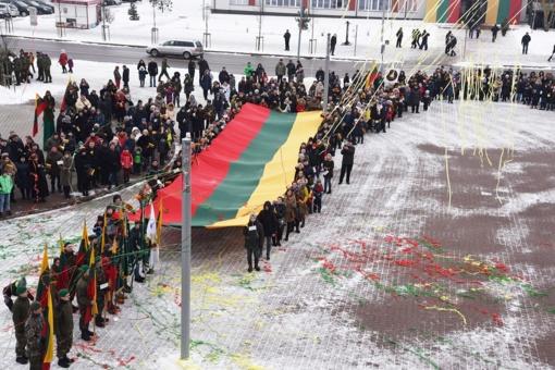 Šalčininkai atšventė Lietuvos gimtadienį (nuotraukų galerija)