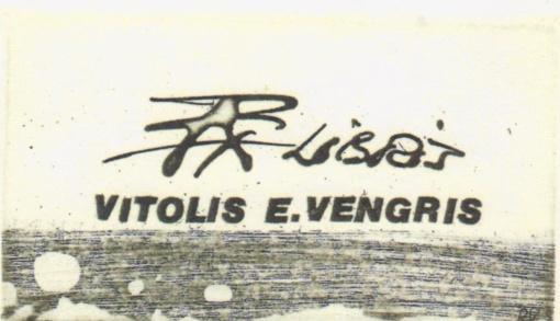Ekslibrisų, skirtų Vitoliui Enrikui Vengriui, paroda