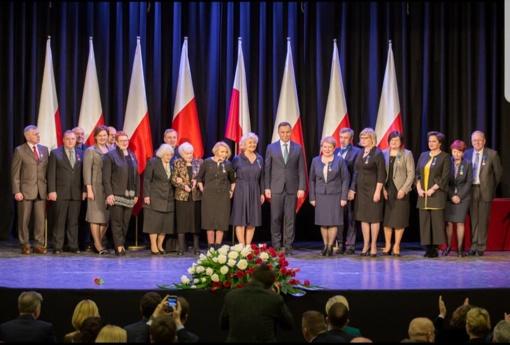 Lenkijos Prezidento valstybiniai apdovanojimai Šalčininkų rajono atstovams