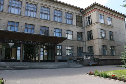 Skirtas finansavimas Šiaulių Kultūros centro atnaujinimui
