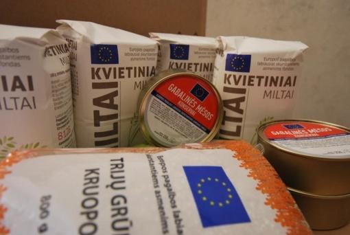 Elektrėnų savivaldybėje bus dalijami maisto produktai
