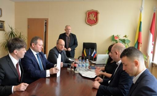 Šilalėje lankėsi Sovetsko miesto administracijos delegacija