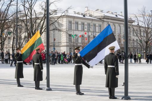 Vilniuje paminėtas Estijos nepriklausomybės šimtmetis