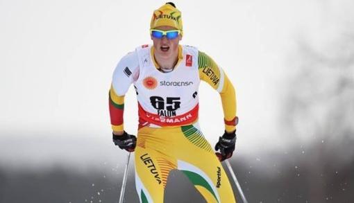 T. Strolia ir M. Biliūnaitė - Lietuvos slidinėjimo čempionai