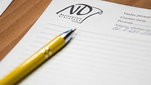 Kviečiame rašyti Nacionalinį diktantą Lazdijuose