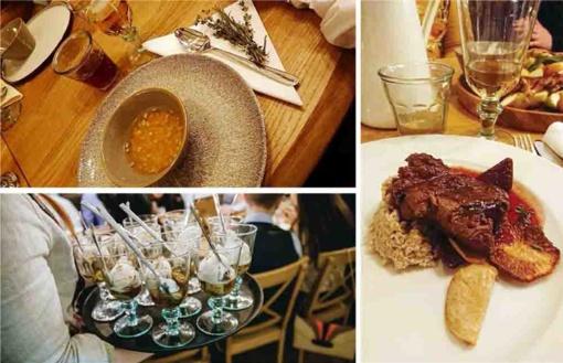 Šimtmečio vakarienėje ne tik didikų maistas, bet ir istorinės detalės