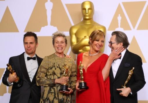 """Permainų kupiną """"Oskarų"""" dalybų vakarą triumfavo """"Vandens forma"""""""