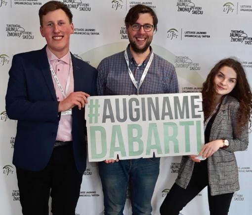 Šiaulių jaunimas nacionaliniame LIJOT žiemos forume
