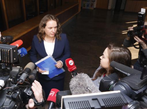 Teisingumo ministrė Milda Vainiutė apibendrino nuveiktus darbus