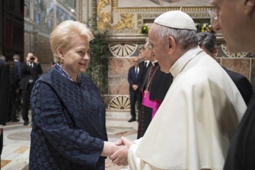 Popiežius Lietuvoje lankysis rugsėjį