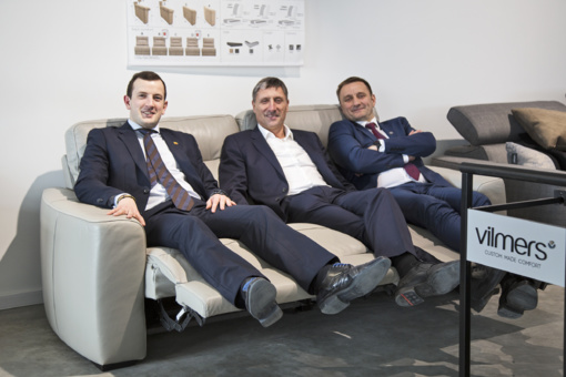 """Ūkio ministras lankėsi Šiaulių baldų gamybos įmonėje """"Vilmers"""""""