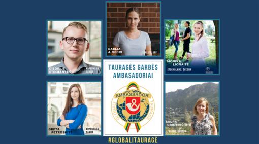 Patvirtinti pirmieji Tauragės garbės ambasadoriai