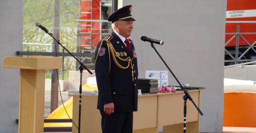 """Telšių ugniagesiams vadovavęs Rimaldas Paulauskas: """"Visada stengiausi žmones vienyti..."""""""