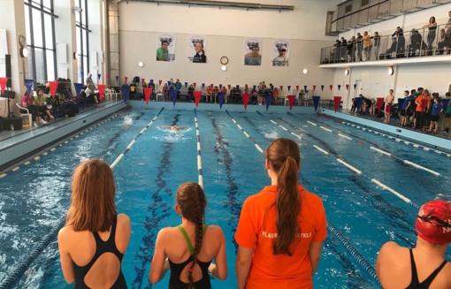 Anykščiuose surengtas atviras Lietuvos jaunučių plaukimo čempionatas