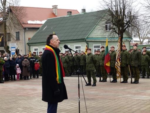 Lietuvos Nepriklausomybės atkūrimo dienos minėjimas Molėtuose