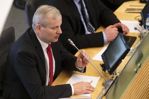 Oficialu: M. Bastys traukiasi iš Seimo