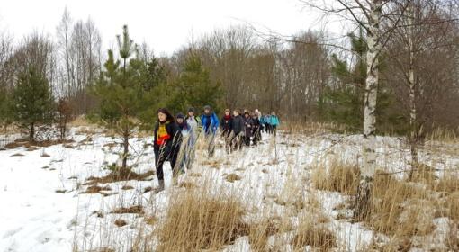Pagramančio regioniniame parke – moterų žygis pėsčiomis (FOTO)