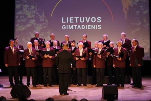Minint Kovo 11-ąją – trijų Baltijos valstybių vienybė Visagine