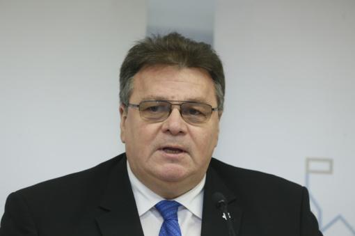 L. Linkevičius apie Baltarusijos notą: būtų keista, jei nepasinaudotų proga