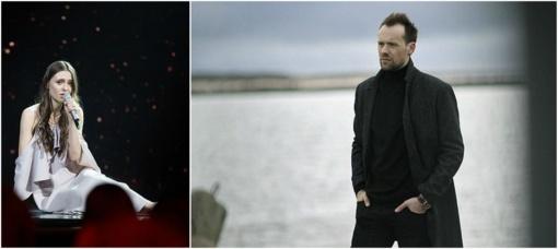 """""""Eurovizijoje"""" triumfavusios dainos autorius V.Bikus: man muzika nėra varžybos"""