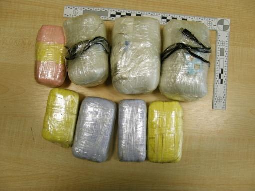 Vilniuje sulaikyta įtariama narkotikų platintoja