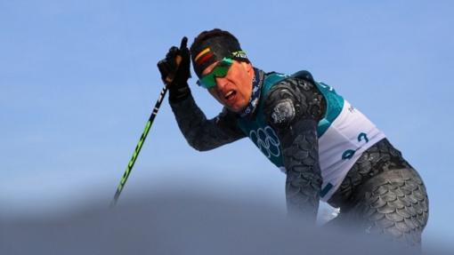 Biatlonininkas V. Strolia pasaulio taurės varžybose Norvegijoje - 56-as