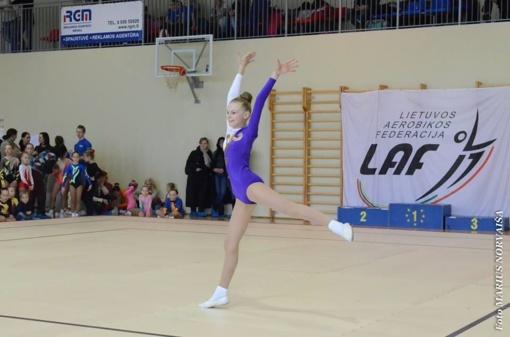 Lietuviams išdalinti kelialapiai į aerobinės gimnastikos pasaulio čempionatą