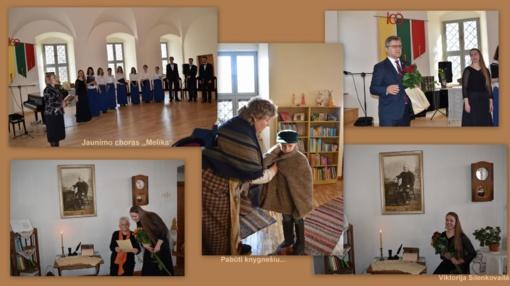 Biržuose vyko popietė skirta Knygnešio dienai