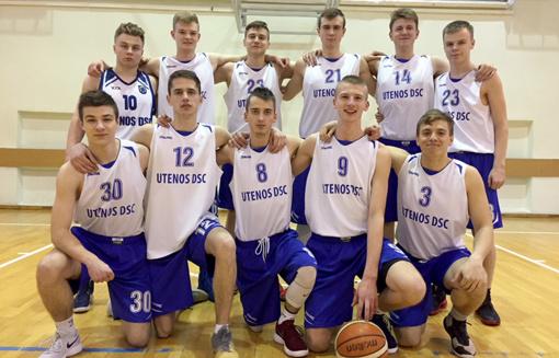 Utenos krepšininkai – tarp aštuonių Lietuvos stipriausių komandų