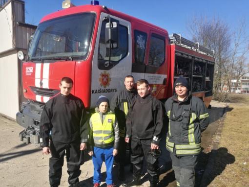 Kaišiadorių rajone trečiokas išgelbėjo lede įlūžusį bendraklasį