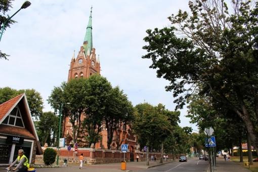 Nuo Velykų Palangos bažnyčia atsivers turistams