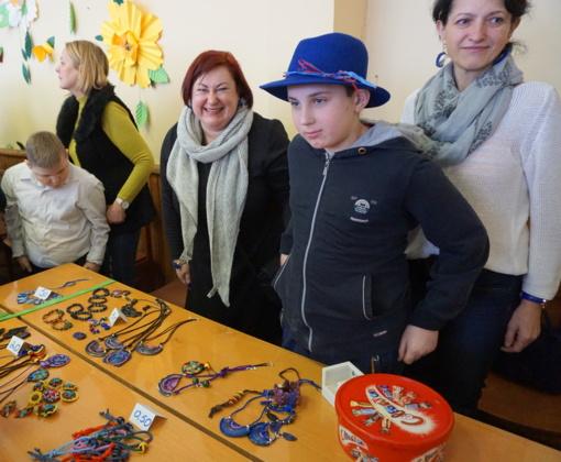 Plungės specialiojo ugdymo centre vyko Kaziuko mugė (FOTO)
