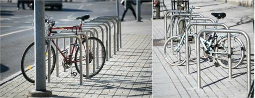 Vilnius patogesnis dviratininkams – daugiau kaip 1500 naujų dviračių stovų