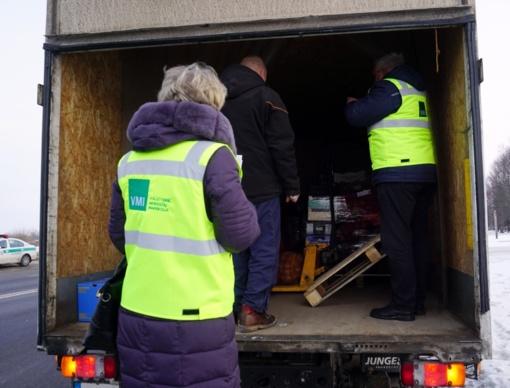 Šiaulių apskrities keliuose vyksta krovininio transporto patikros