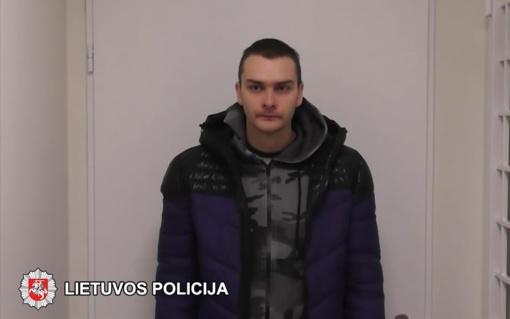 Sulaikytas Lazdynuose siautėjęs ginkluotas plėšikas (vaizdo įrašas)