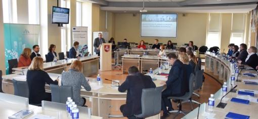 Utenoje pristatyta Europos strateginių investicijų fondo veikla
