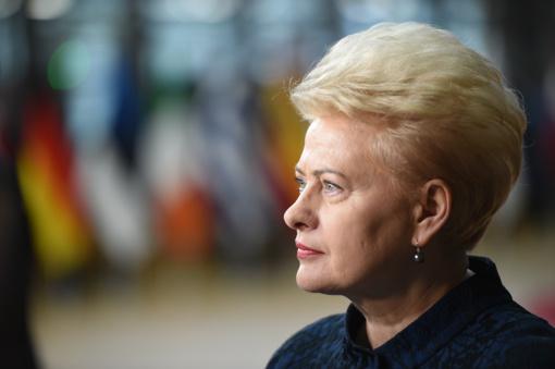 """D. Grybauskaitė apie karines pratybas """"Baltops 18"""": mus gali stebėti kas nori"""