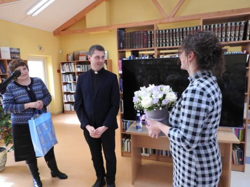 Ignaliniečių susitikimas su kunigu Ričardu Doveika (FOTO)