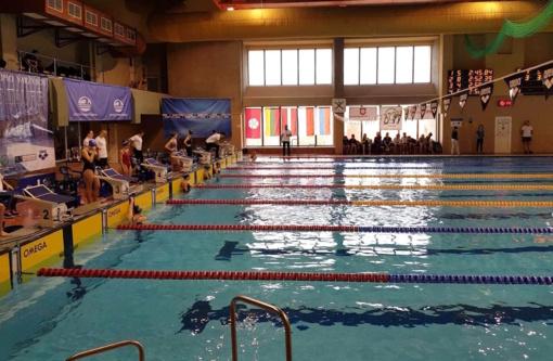 """Plaukimo varžybose """"Dzūkijos taurė"""" geriausiai sekėsi P. Strazdui ir M. Kulbačiauskaitei"""