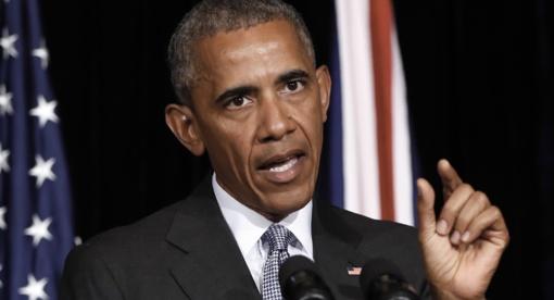 """Šiaurės Korėja kelia """"realią grėsmę"""", perspėja Obama"""