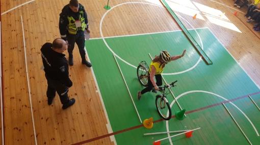 """Tarptautinės Jaunųjų dviratininkų saugaus eismo varžybos """"Autokontaktas 2018"""""""