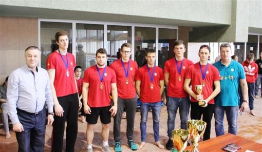 Alytaus kanupolininkai iškovojo du bronzos medalių komplektus