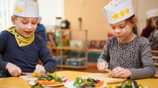 Kauno darželinukams – geriausių virtuvės meistrų pamokos