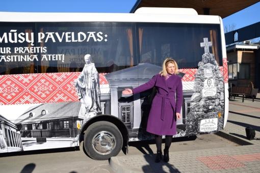 Pristatyti išskirtiniai autobusai